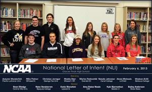 NCAA National Letter of Intent Signing