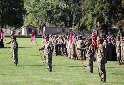 Guardsmen to deploy to Middle East
