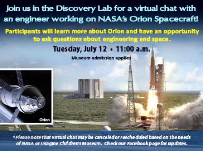 Virtual Chat with NASA Engineer