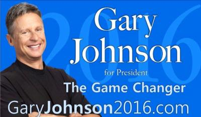 GARY JOHNSON WINS WASHINGTON STRAW POLL