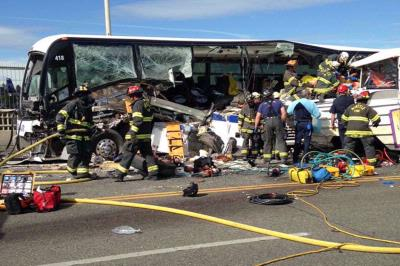 Tragic bus crash triggers emergency call for blood donors