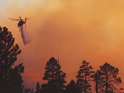 Chuweah Creek Fire