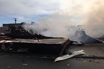 UPDATED: Everett Fire responds to 3-alarm fire