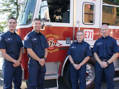 Fire District 7 Hires Four Firefighters