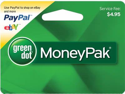 Green Dot MoneyPaks Pack Funds for Frauds