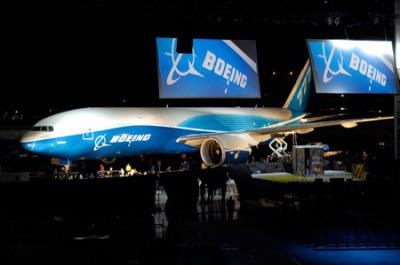 Boeing Celebrates the Debut of the New 777 Freighter