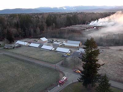 Firefighters fight early morning blaze