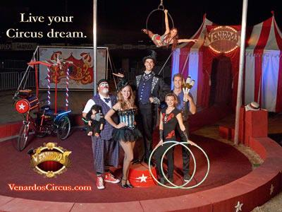 Razzle Dazzle of the Circus coming to Town