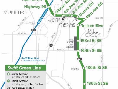 Swift Green Line Launch