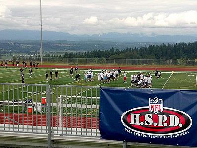Glacier Peak Hosts NFL Camp