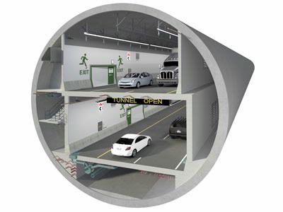 SR 99 tunnel toll rates