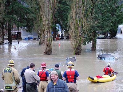Snohomish Times Newspaper Three Rivers Mobile Home Park Evac