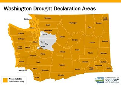 Ecology declares drought emergency