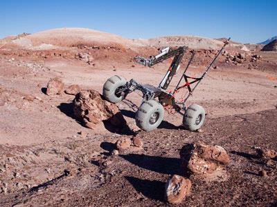 WSU Everett Mars rover team