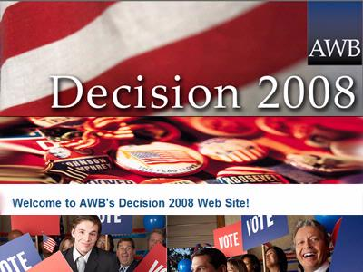 NEW! AWB elections Web site