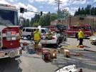 Motor vehicle collision temporarily closes SR 527