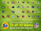 Tide Celebrates NFL