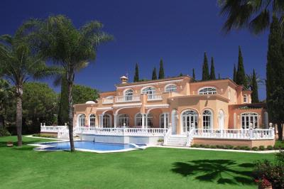 Prince's former home in Marbella, Spain